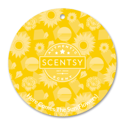 sunflowers scentsy scent circle