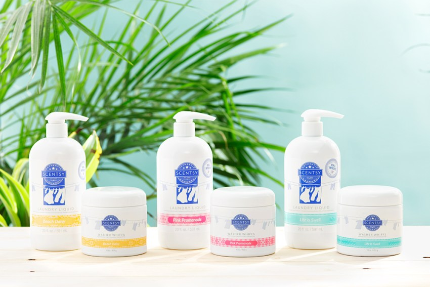 Summer Collection Laundry Fragrances