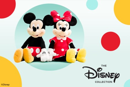 Mickey and Minnie Scentsy Buddies