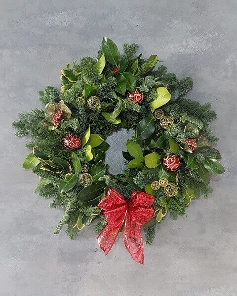 Christmas Door Wreath