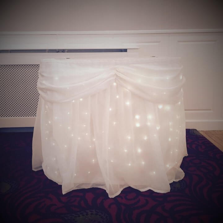 Twinkle Cake Table Cover