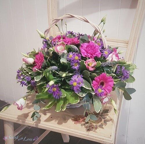 Pink Seasonal Basket