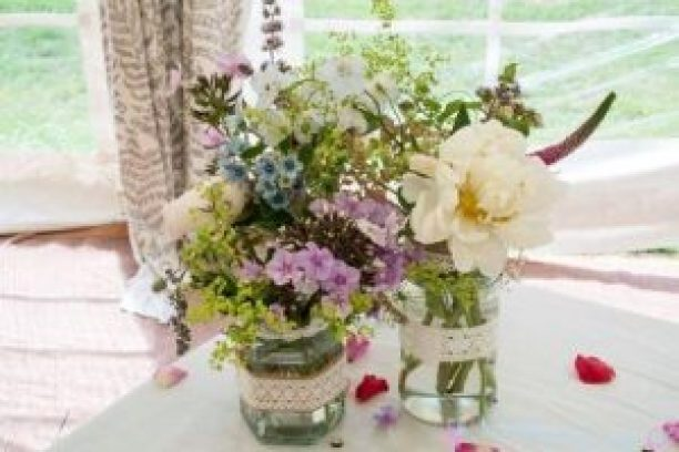 Table Centre Jars