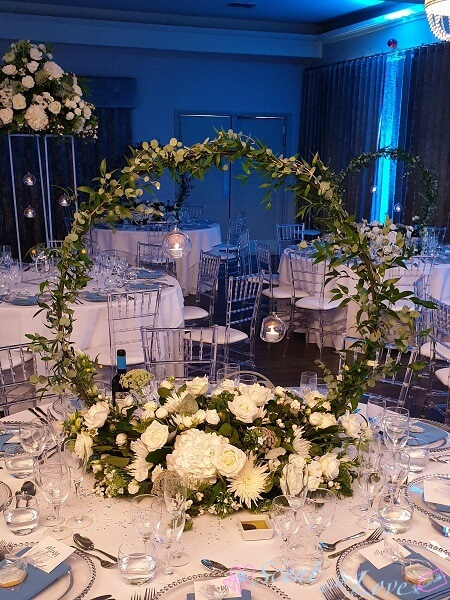 Hoop Table Centre