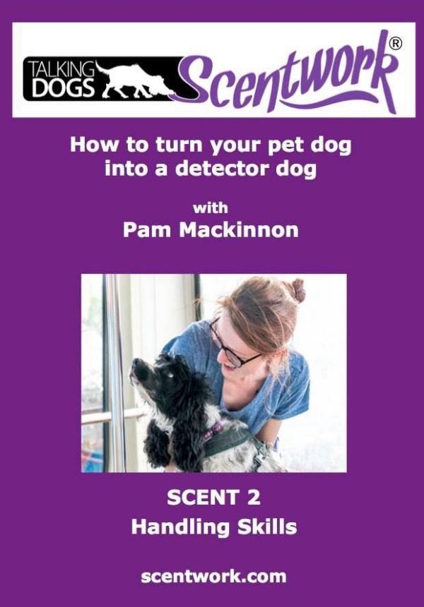 Scentwork dvd scent 2 handling skills
