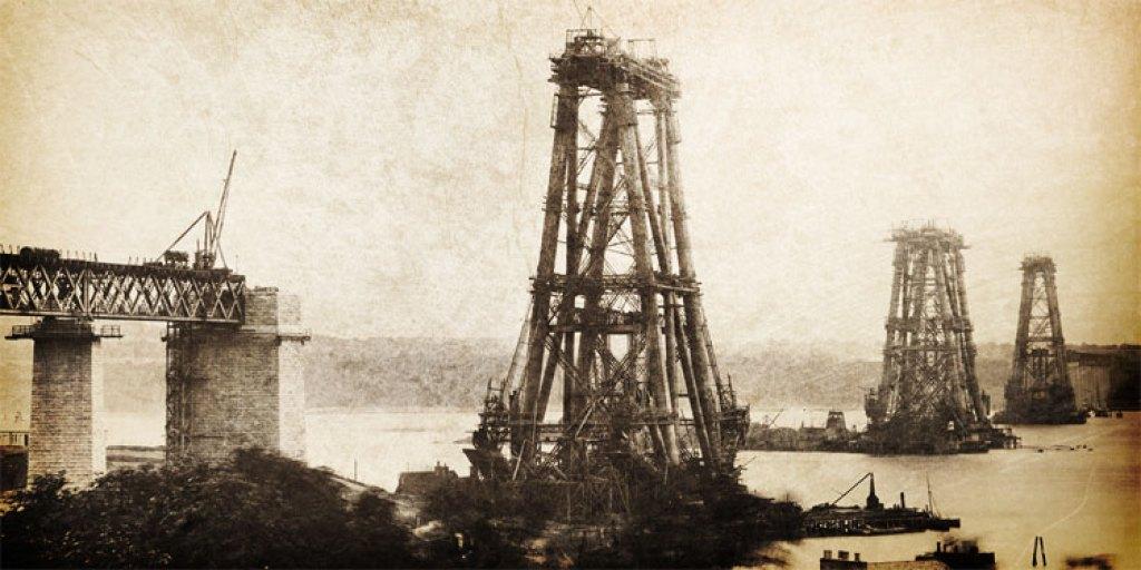 forth_bridge_construction