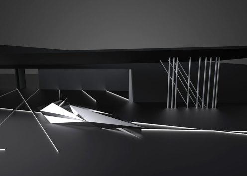 Design for Prima installation, Zaha Hadid, 2013