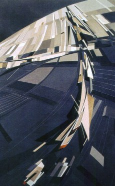 Design for The Peak, Zaha Hadid, 1982