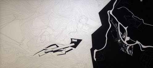 Design for The Peak, Zaha Hadid, 1982