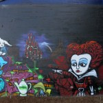 Red Queen mural, image by wiredforlego CC By-NC 2.0