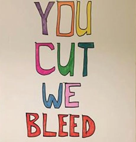 You Cut We Bleed