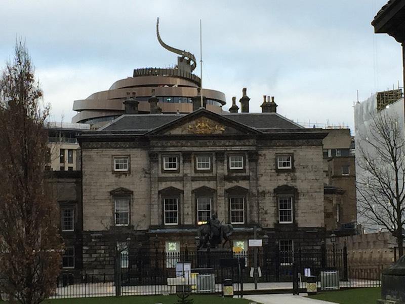 The Golden Turd, Edinburgh St James seen from George Street: image Ray Perman