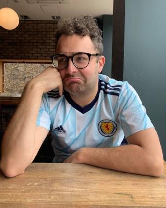 Post match: Craig Angus drowns his sorrows