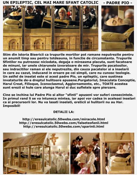 Padre Pio, un inselat - cel mai mare sfant catolic