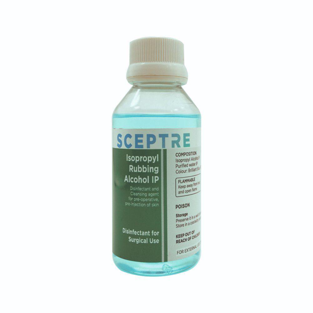 Isopropyl Rubbing Alcohol IP 100ml