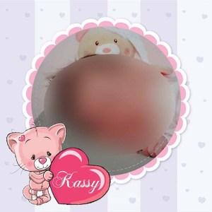 faire-part naissance petit chat rose