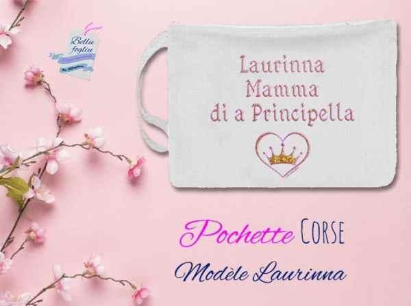 pochette personnalisable corse mamma maman principella bébé enfant princesse