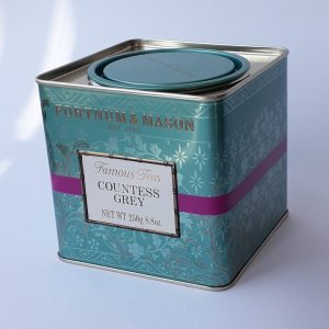 Fortnum and Mason Tea Caddy - photo for packaging review blog at scgreenwood.co.uk