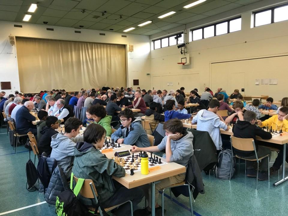 Aargauer Schachtag 2019 - im Turnierlokal