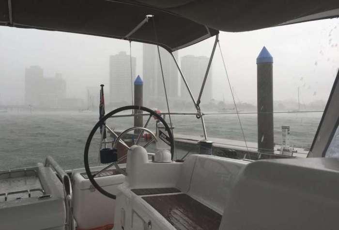 Heavy rain!
