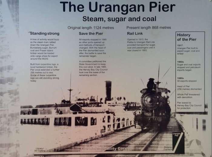 Urangan Pier history