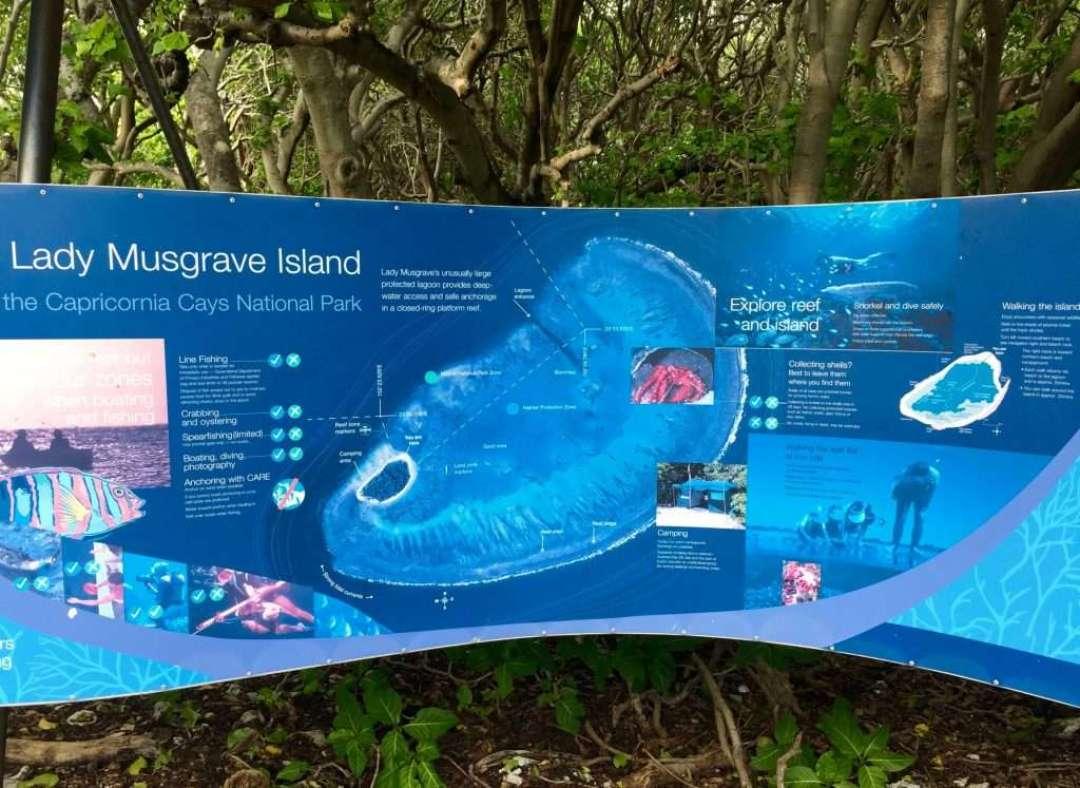 Island information map
