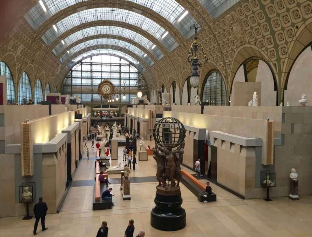 Museum d'Orsay interior.