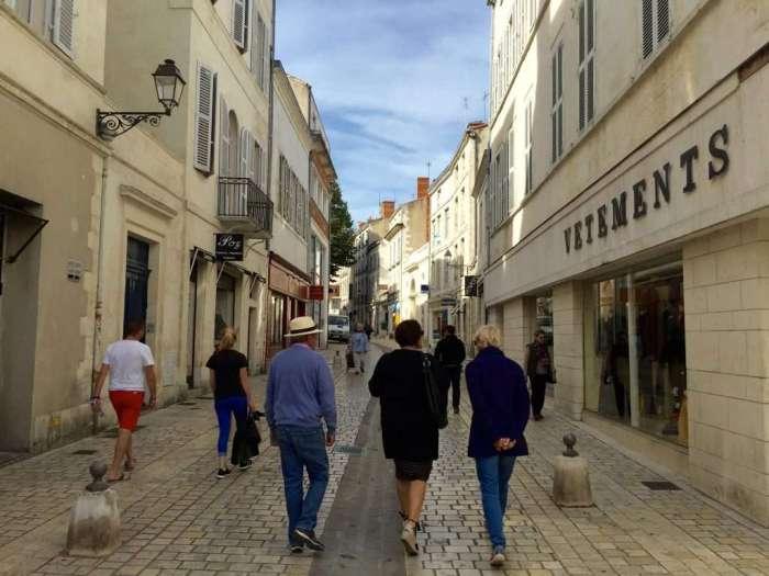 La Rochelle old town.