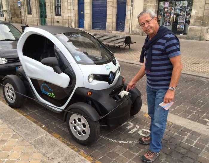 Electric cars everywhere!