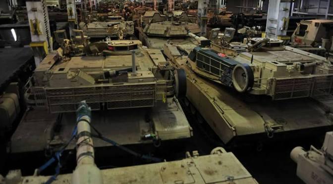 Update 1: USA verlegen 2000 Fahrzeuge und 4000 Mann