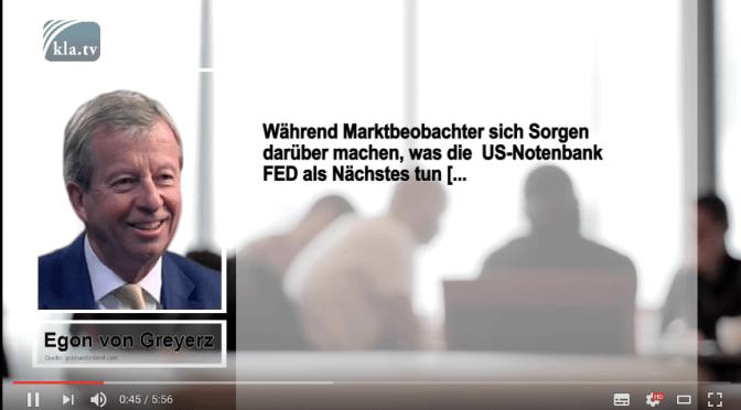 Egon von Greyerz: Die USA schulden der Welt fast dreimal mehr Gold, als es auf der Welt gibt