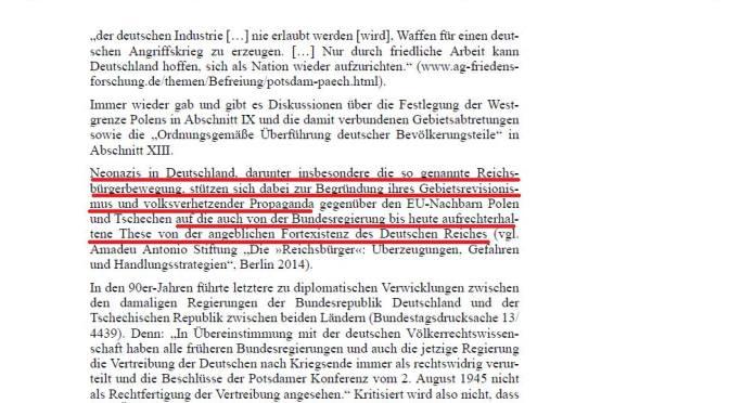 Reichsbürger = Neonazis?