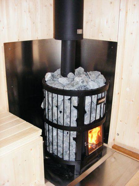 BoWo-Sauna mit Holzofen