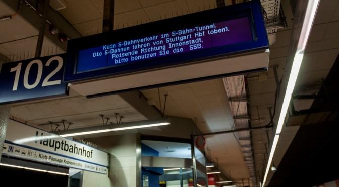 Stuttgart und die S-Bahn
