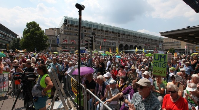 Samstagsdemonstation gegen Stuttgart 21