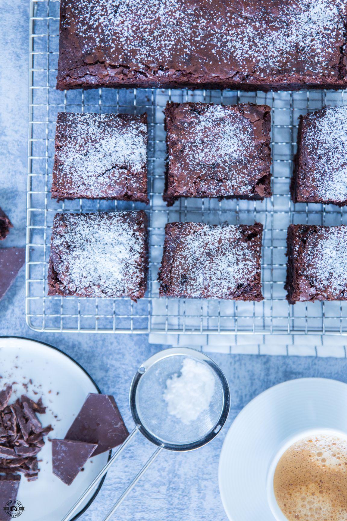 Saftige Chocolate Brownies