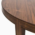 Severin Hansen dining table in rosewood by Haslev at Studio Schalling