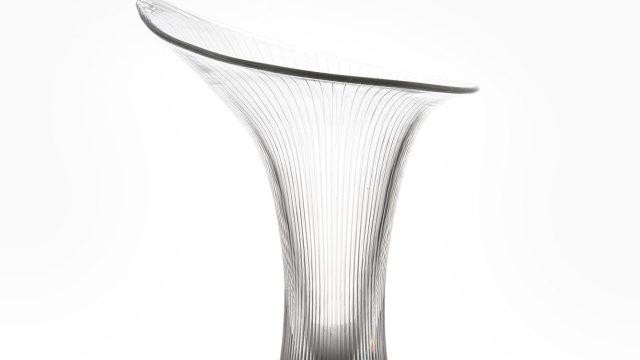 Tapio Wirkkala Kantarelli glass vase by Iittala at Studio Schalling