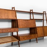 Arne Vodder & Anton Borg bookcase by Vamo at Studio Schalling