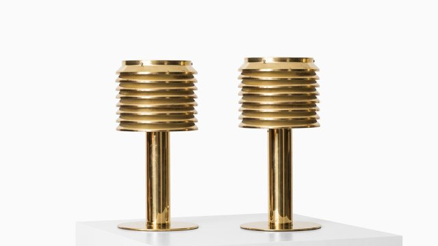 Hans-Agne Jakobsson table lamps model B-142 at Studio Schalling