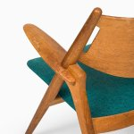 Hans Wegner easy chairs model CH-28 at Studio Schalling