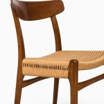 Hans Wegner dining chairs model CH-23 at Studio Schalling