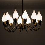 Tulip ceiling lamp by Fog & Mørup at Studio Schalling