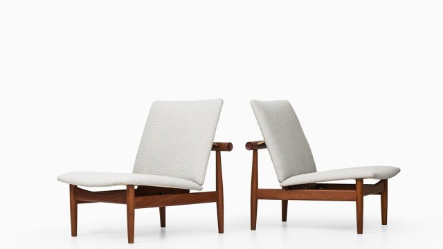 Finn Juhl easy chairs model FD-137 at Studio Schalling