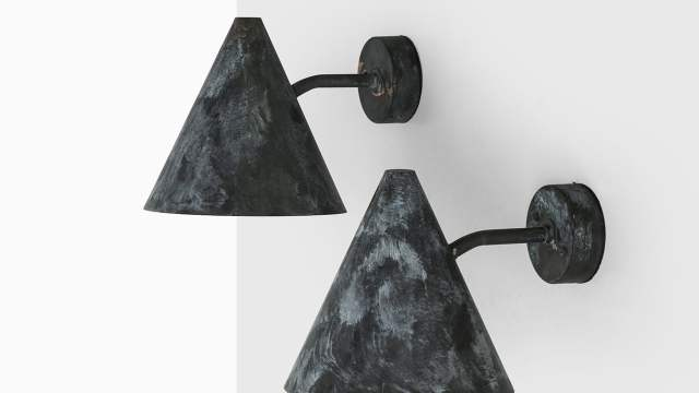 Hans-Agne Jakobsson wall lamps model Tratten at Studio Schalling