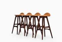 Erik Buch bar stools model OD-61 at Studio Schalling