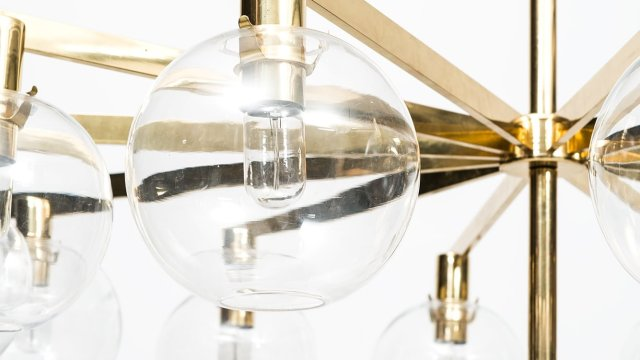 Hans-Agne Jakobsson ceiling lamp model T-348/12 at Studio Schalling