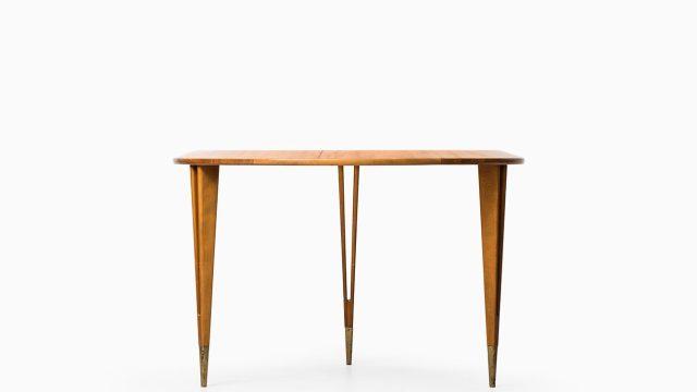 Bertil Fridhagen coffee table in mahogany at Studio Schalling