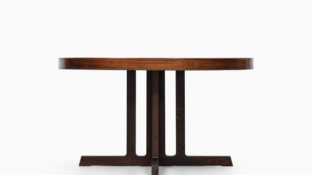 Johannes Andersen dining table in rosewood at Studio Schalling