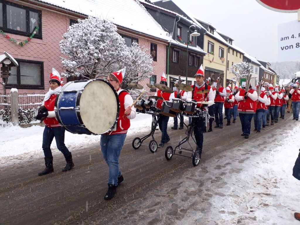 Kreiskarnevalsumzug Tambach-Dietharz Fotos
